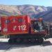 Presentan un nuevo vehículo de rescate en nieve para bomberos voluntarios de Luzaide